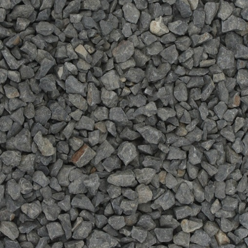 Crushed basalt