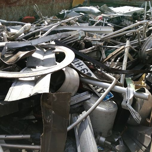 Non ferrous scrap material to process Al mixed scrap