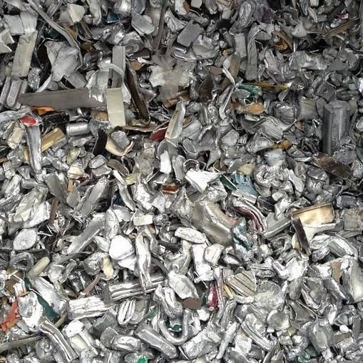 Perfilería aluminio fragmentado