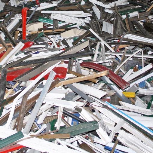 Nichteisenmetallschrott verarbeitbare materialien Aluminiumprofile