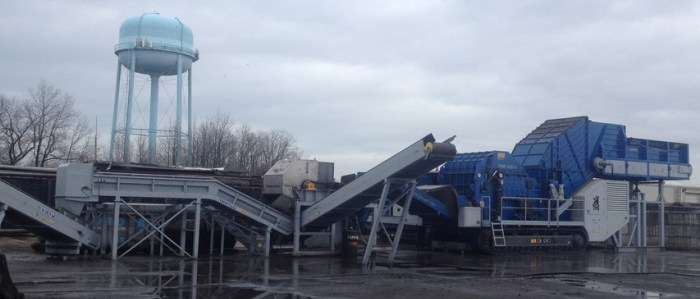 Ferrous Scrap Shreddingand Classification  Mobile Plants