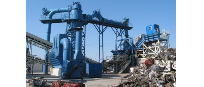 Ferrous Scrap Shreddingand Classification  Stationary Plants