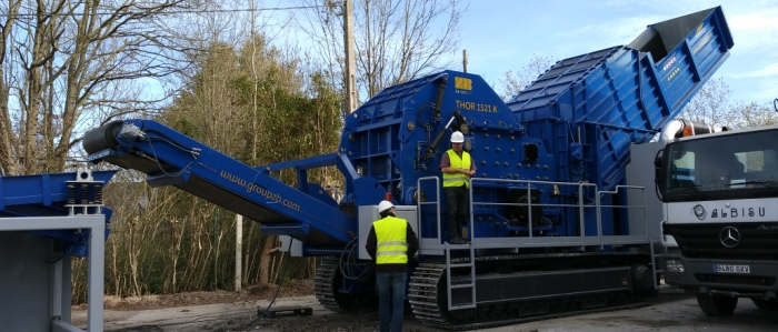 Non Ferrous Scrap Shredding and Classification  Mobile Plants