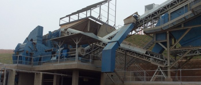 Construction and Demolition Waste (CDW) Treatment Stationary Plants