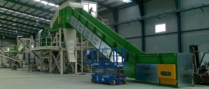 Non ferrous scrap stationary treatment plants (FEEDING)