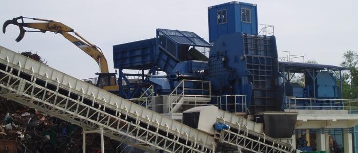 Ferrous scrap stationary treatment plants (FEEDING)