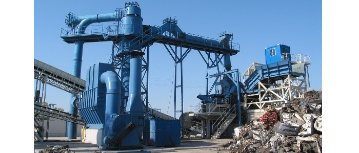 Ferrous scrap stationary treatment plants (CLEANING)