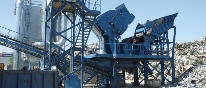 Non ferrous scrap stationary treatment plants (SHREDDING)