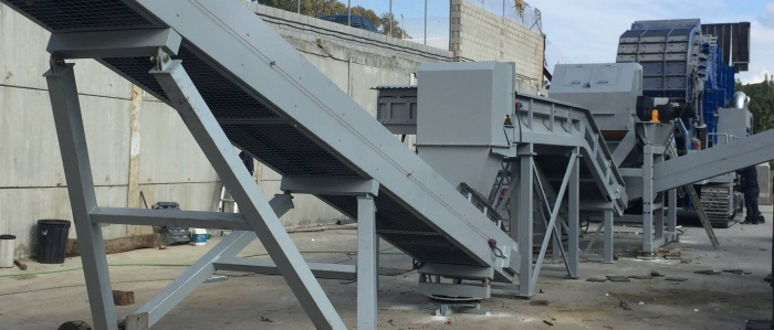 Non ferrous scrap treatment mobile units (PERIPHERIALS)