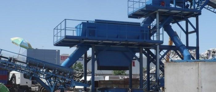 Ferrous scrap stationary treatment plants (PERIPHERIALS)