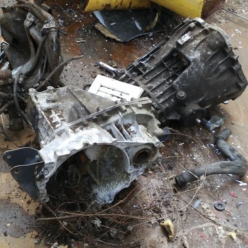Déchets non ferreux matériaux traitables Carters en aluminium