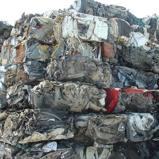 Eisenmetallschrott verarbeitbare materialien Ballen