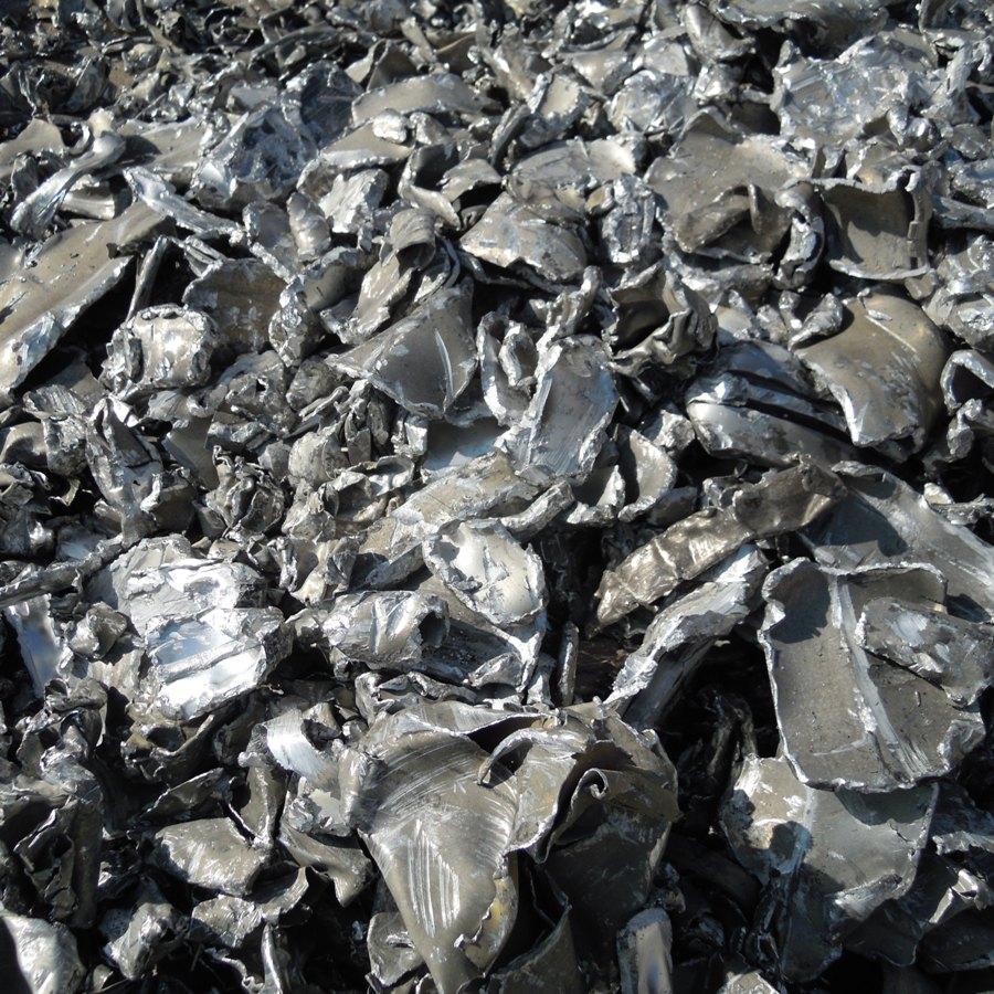 Paquete aluminio fragmentado