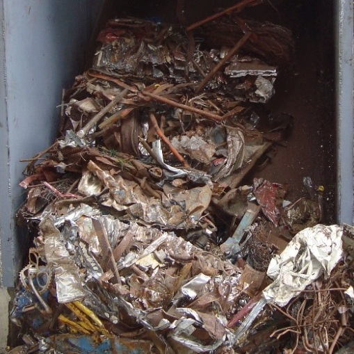 Ferrous scrap material to process Sheared bales