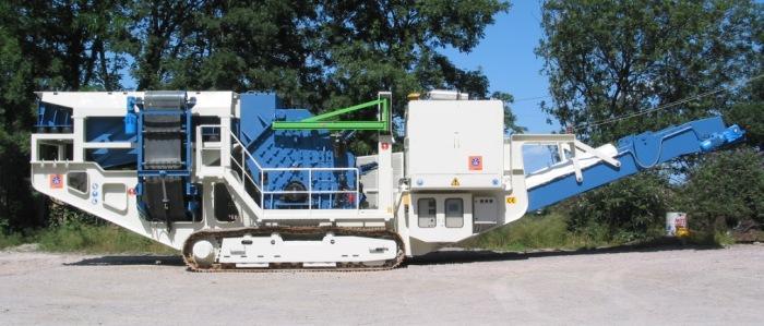 Mobile Einheiten zum Zertrümmern Von Zuschlagstoffen und Mineralien