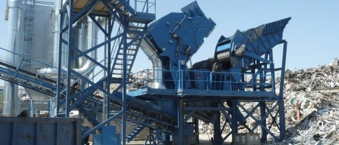 Non Ferrous Scrap Shredding and Classification Stationary Plants