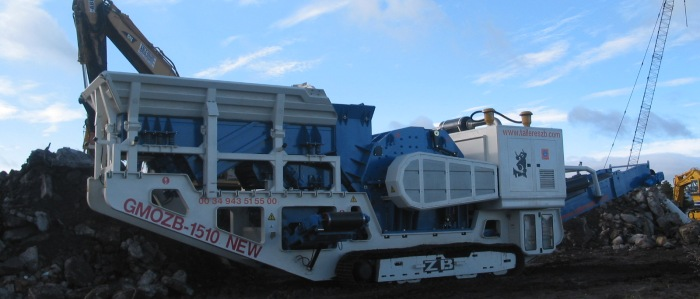 Construction and Demolition Waste (CDW) Crushing Mobile Plants