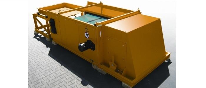 Instalaciones fijas para el tratamiento de chatarra férrica Separación de metales no férricos