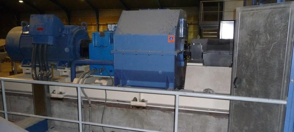 FRZB-1519 CON ACCIONAMIENTO PRINCIPAL ELECTRICO (900 kW)
