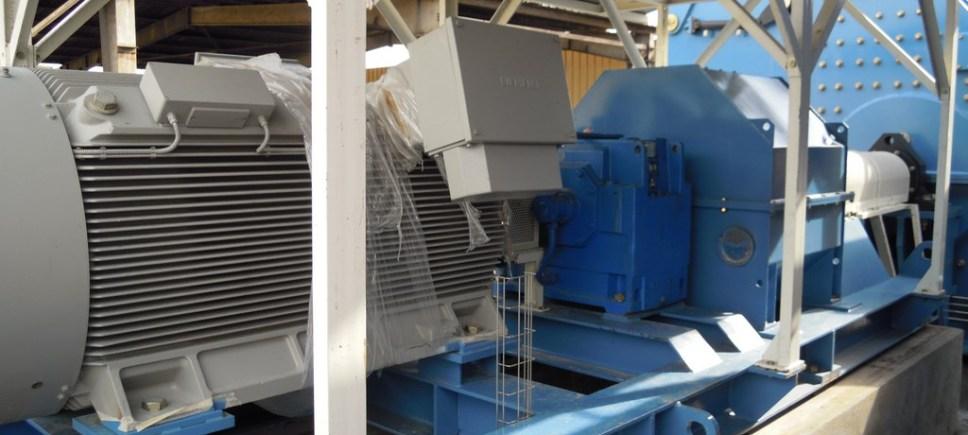 FRZB-2021 CON ACCIONAMIENTO PRINCIPAL ELECTRICO (1500 kW)