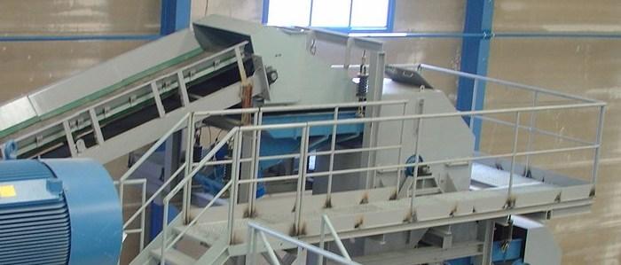 Instalaciones fijas para el tratamiento de chatarra no férrica Separación de férricos