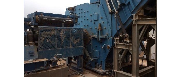 CDW treatment stationary plants Crushing