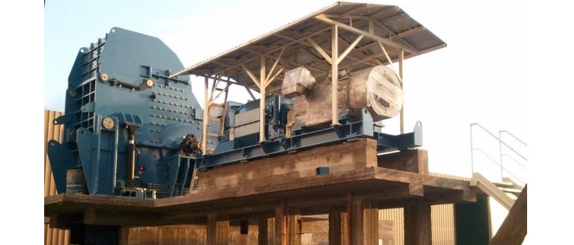 Instalaciones fijas para el tratamiento de chatarra férrica Trituración
